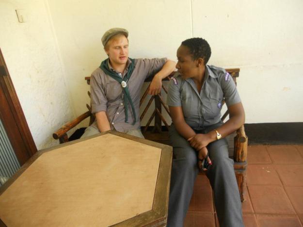 Koulutuksen päätutkapari Joonas ja Mary. Myös kollegamme Jacques harjoitti hikirauhasiaan jotta saimme kaiken rullaamaan.